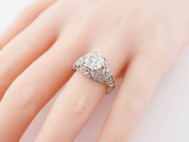 Antique Engagement Ring Edwardian -TEST