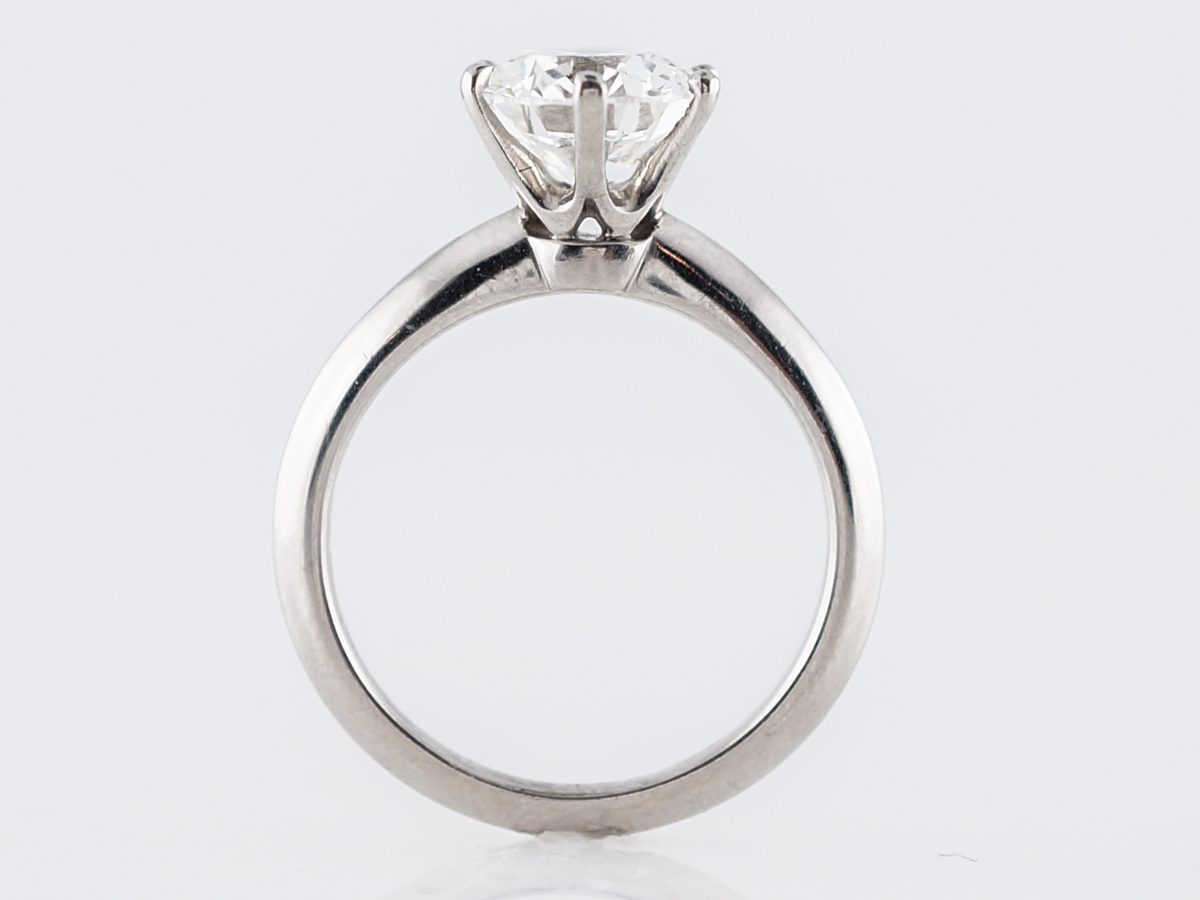 a3184f7f3 Engagement Ring Modern Tiffany & Co. 2.05 GIA Round Brilliant Cut ...
