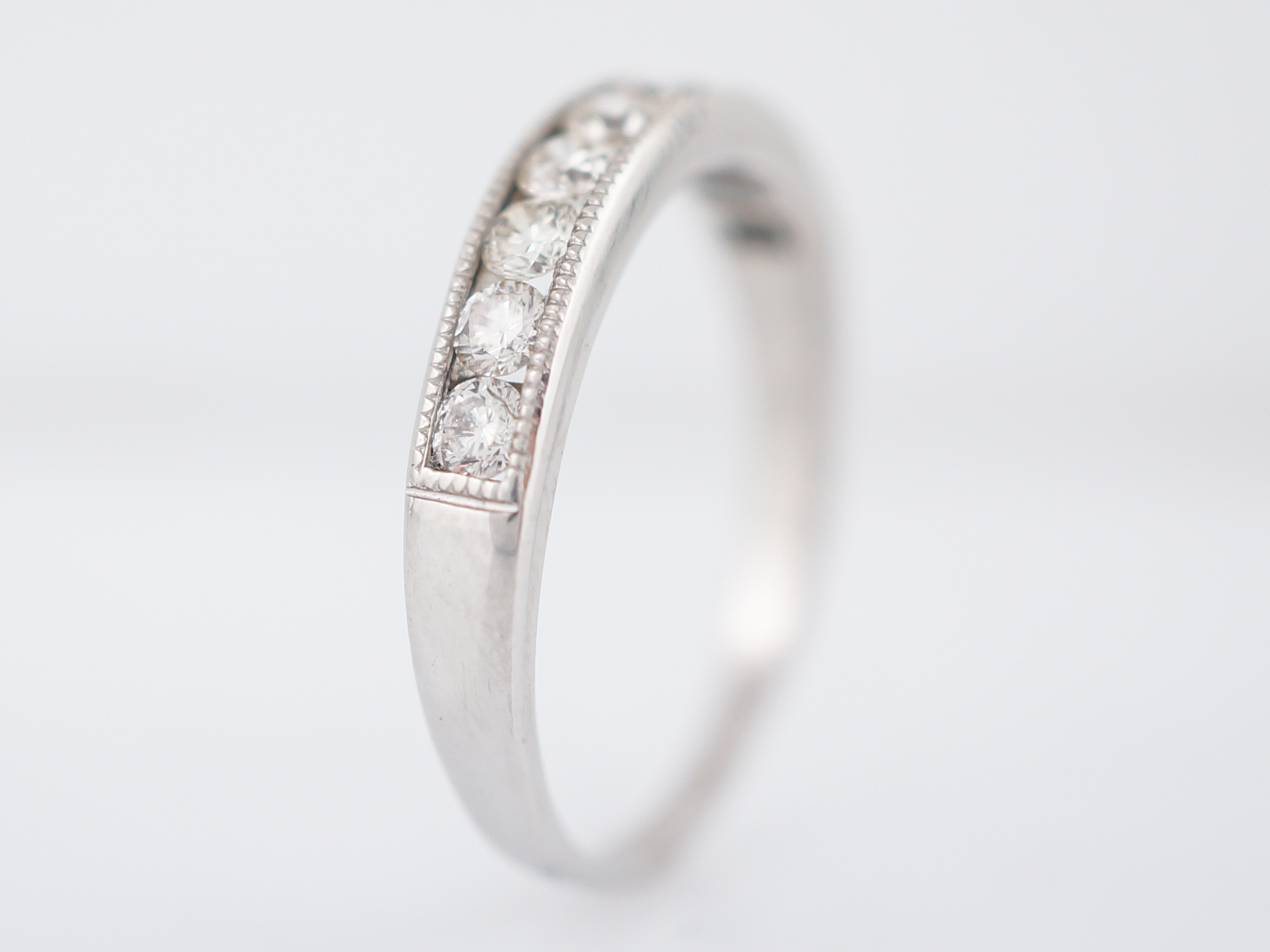 band platinum rose portfolio feature rings floral vintage wedding durham milgrain with style stunning