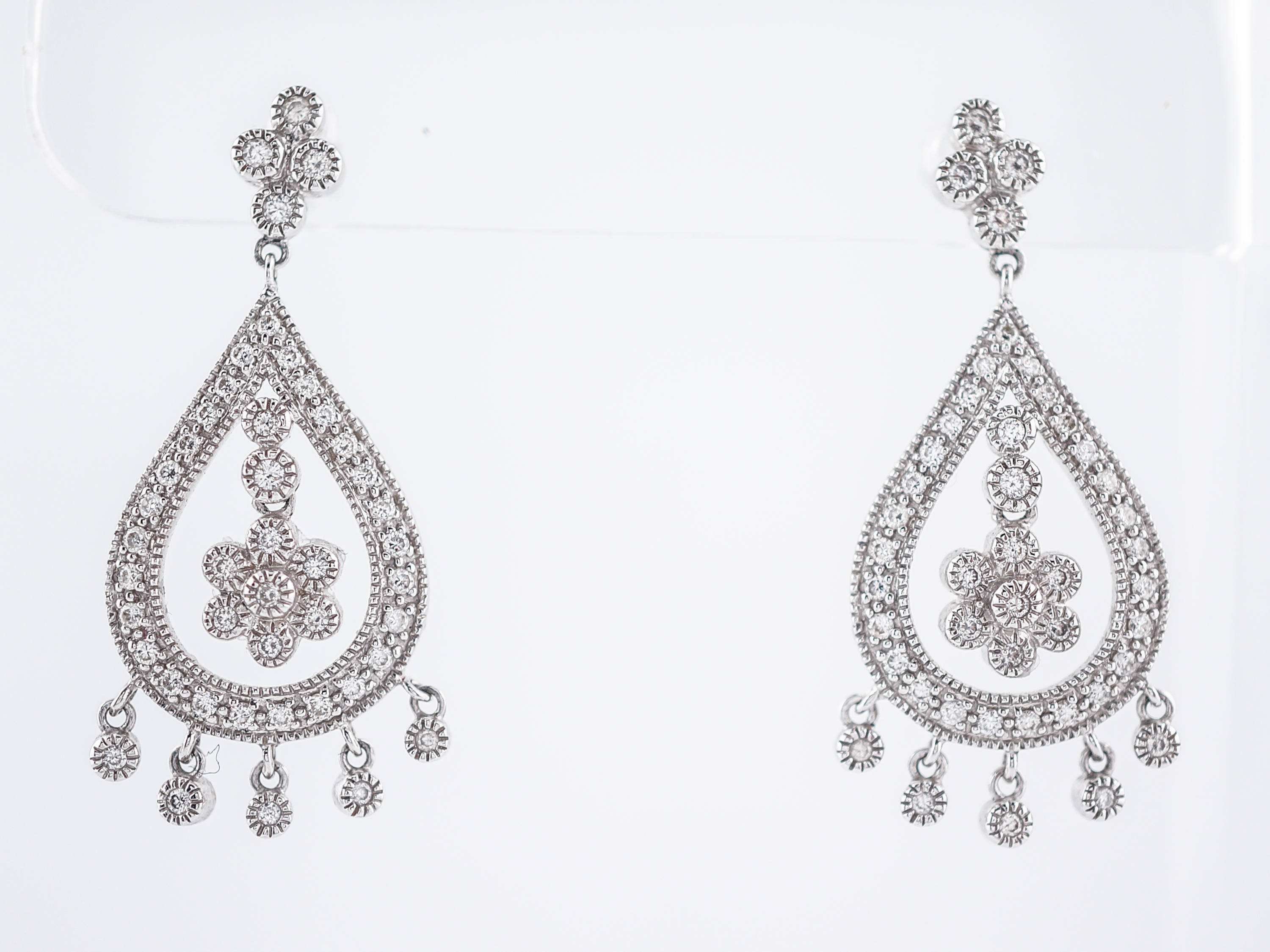 antique earrings jewellery diamond temple designer