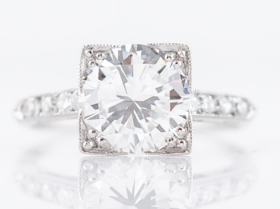 chic jewelers download filligree garelick diamond rings ben engagement filigree with corners and wedding