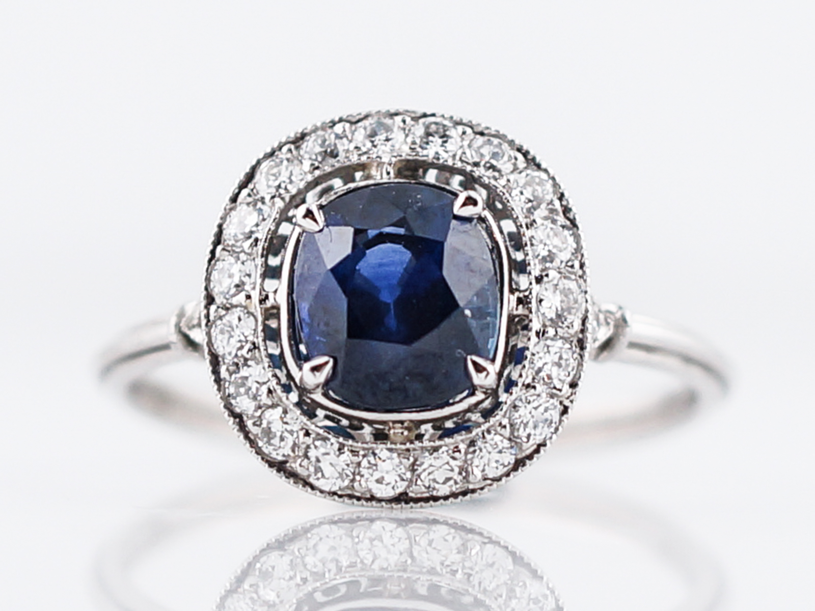 diamond engagement luxe in white gold product image rings ring sapphire