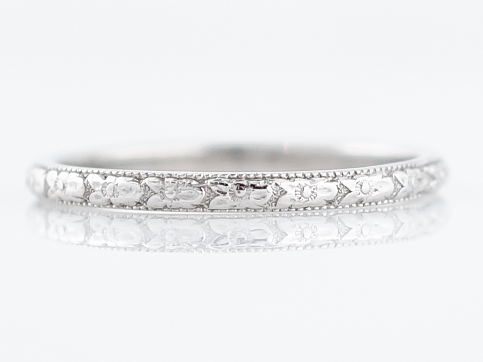 filigree and bands band platinum diamond s vintage product art deco eternity