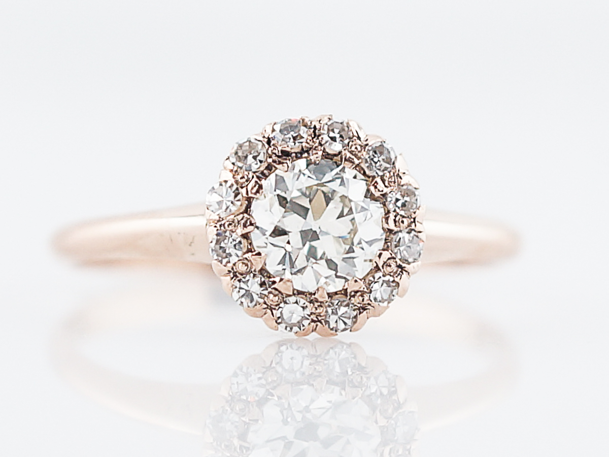 style engagement rose wedding oval products mathilde ring blush morganite antique gold rings