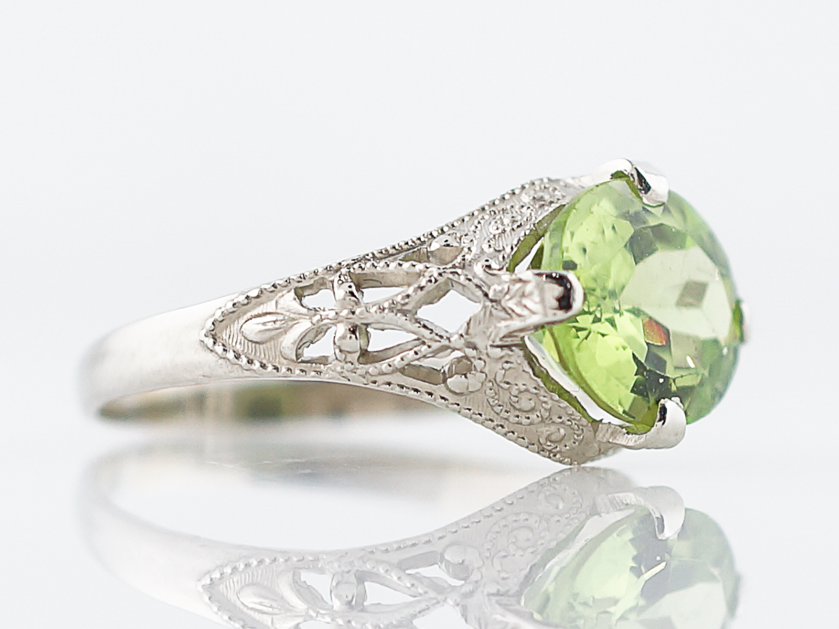 eternity annivery band rings ring her full gold rose for peridot wedding
