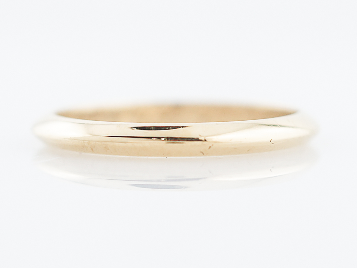Antique wedding band retro tiffany co in 18k yellow gold home wedding bands junglespirit Gallery