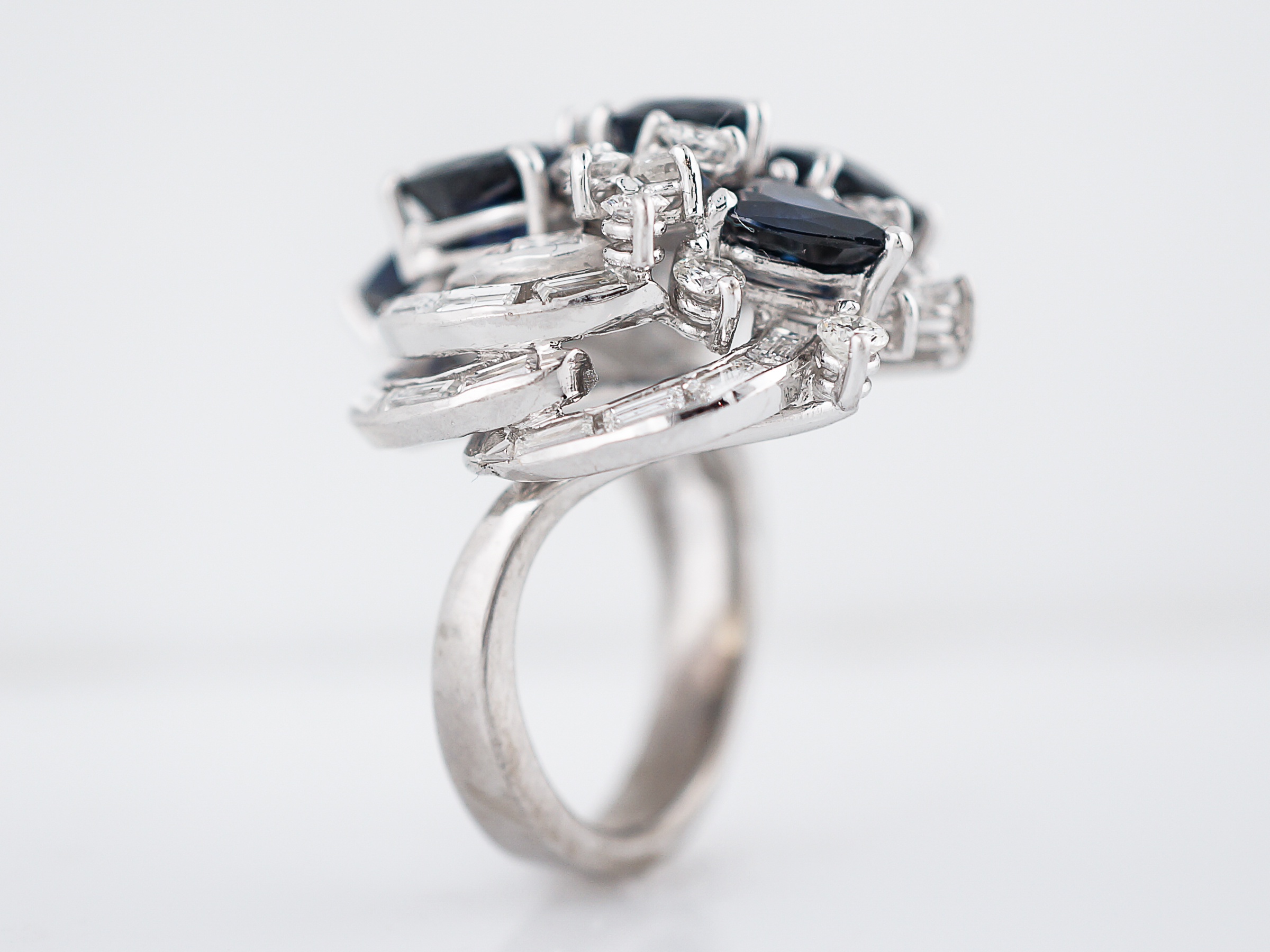 engagement and judith products crisscut diamond baguette ring sapphire platinum