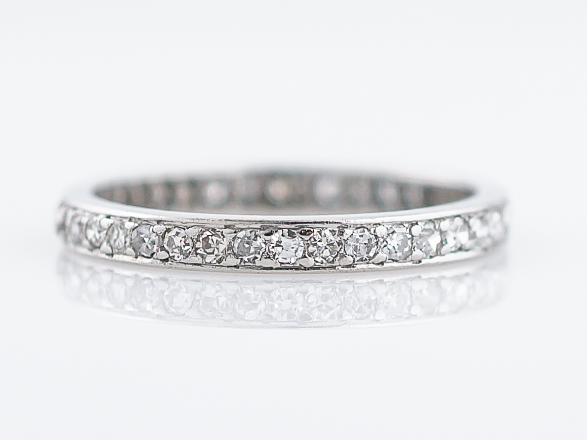 platinum with vintage milgrain feature band bands stunning floral portfolio wedding style durham rose