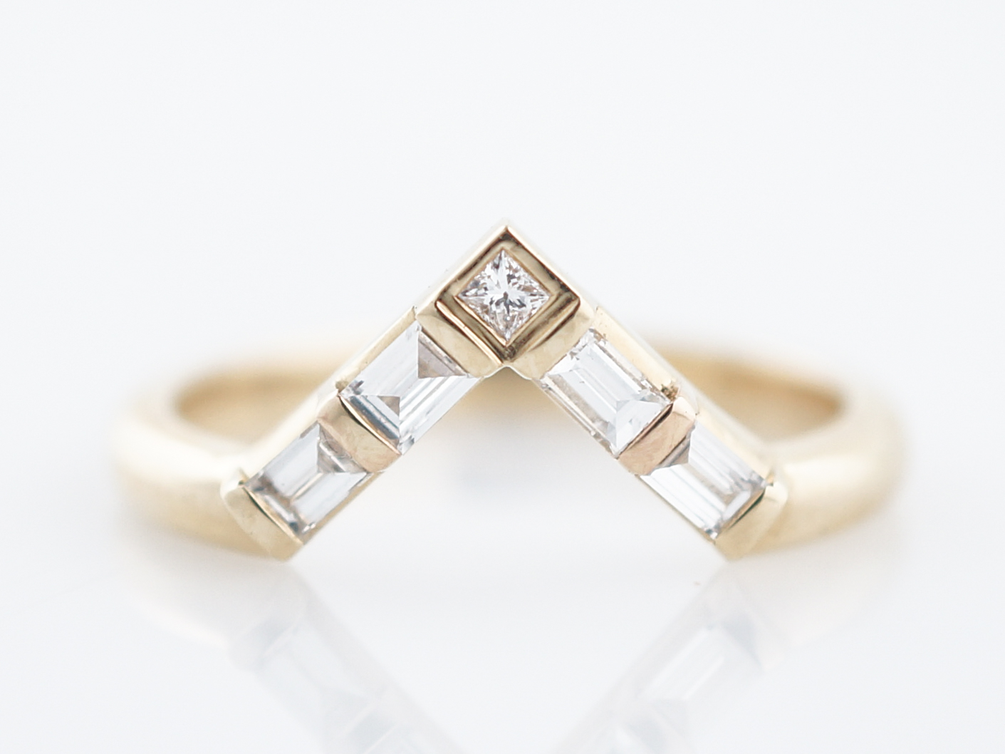 Wedding band modern 39 baguette square cut diamonds in 14k yellow home wedding bands junglespirit Choice Image