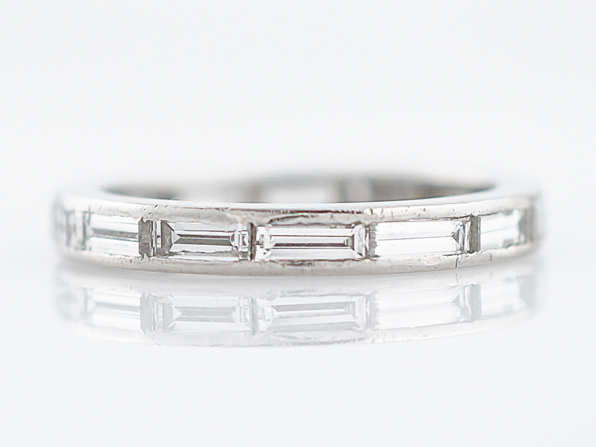 encircle set eternity baguette round diamond band and wings with platinum bands diamonds signature baguetted love collections