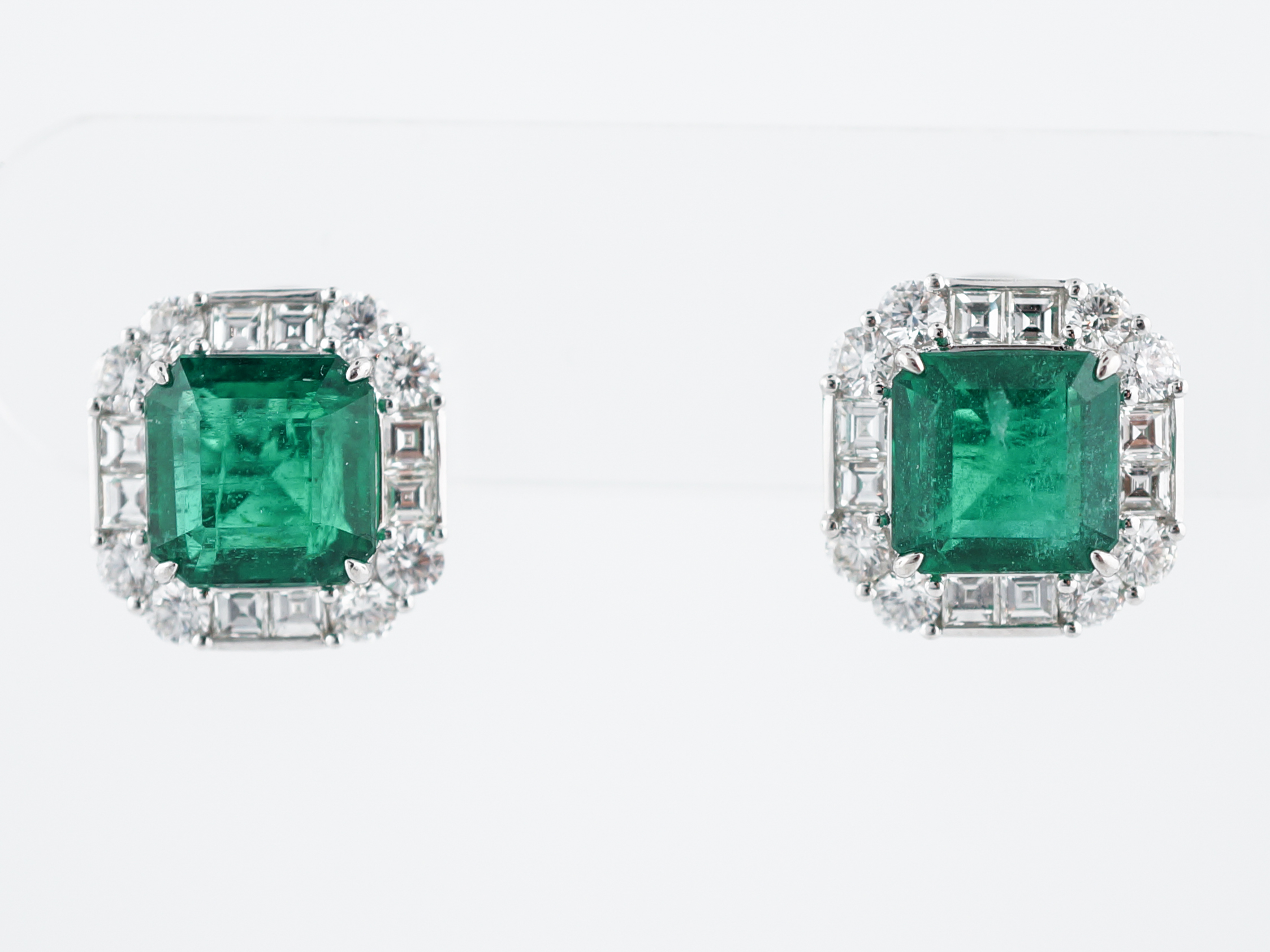 stud natural designs shop tamara g emerald earrings
