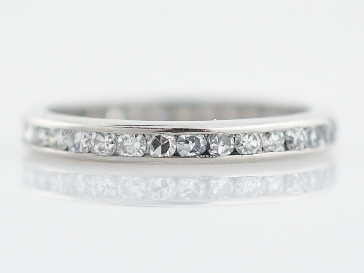 band product ct cut style eternity c round gardens inc antique bands diamond