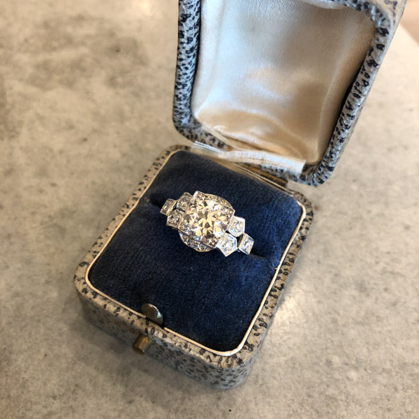 21 Stunning Art Deco Engagement Rings For Any Woman Filigree Jewelers