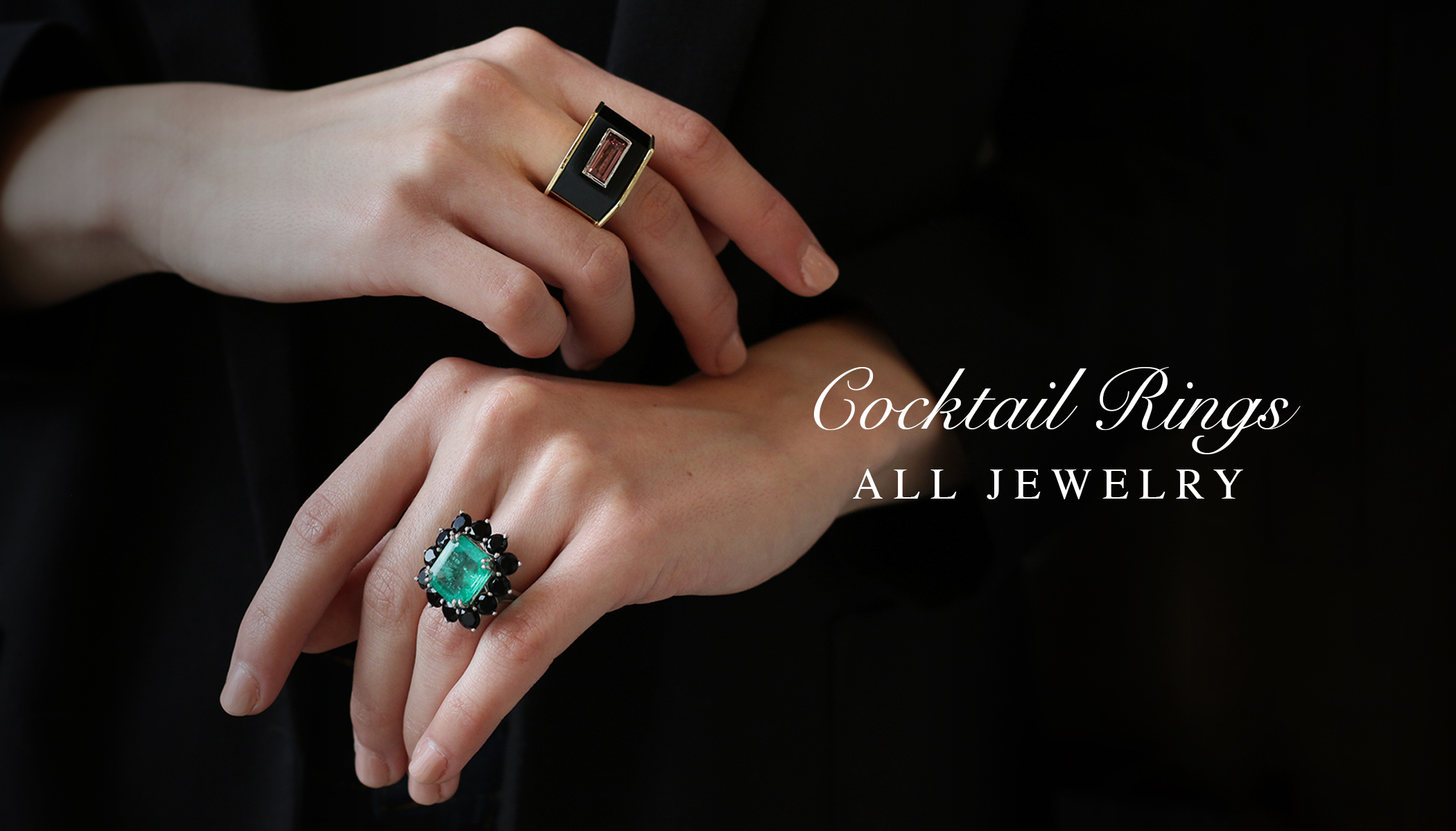 22c967ab5987f Cocktail Rings - Right Hand Rings - Vintage Rings - Filigree Jewelers
