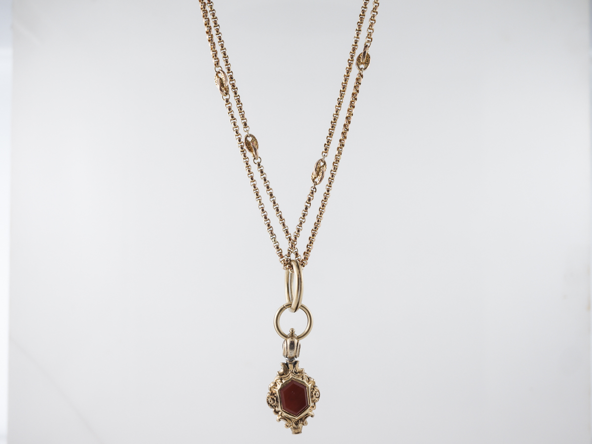 Antique Chain Victorian in 10k Yellow Gold