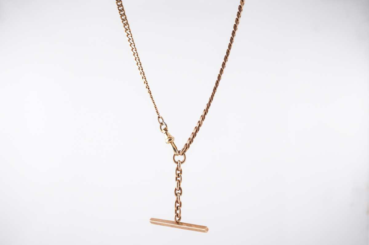 Necklace Modern 20 inch Chain in 14k Yellow Gold