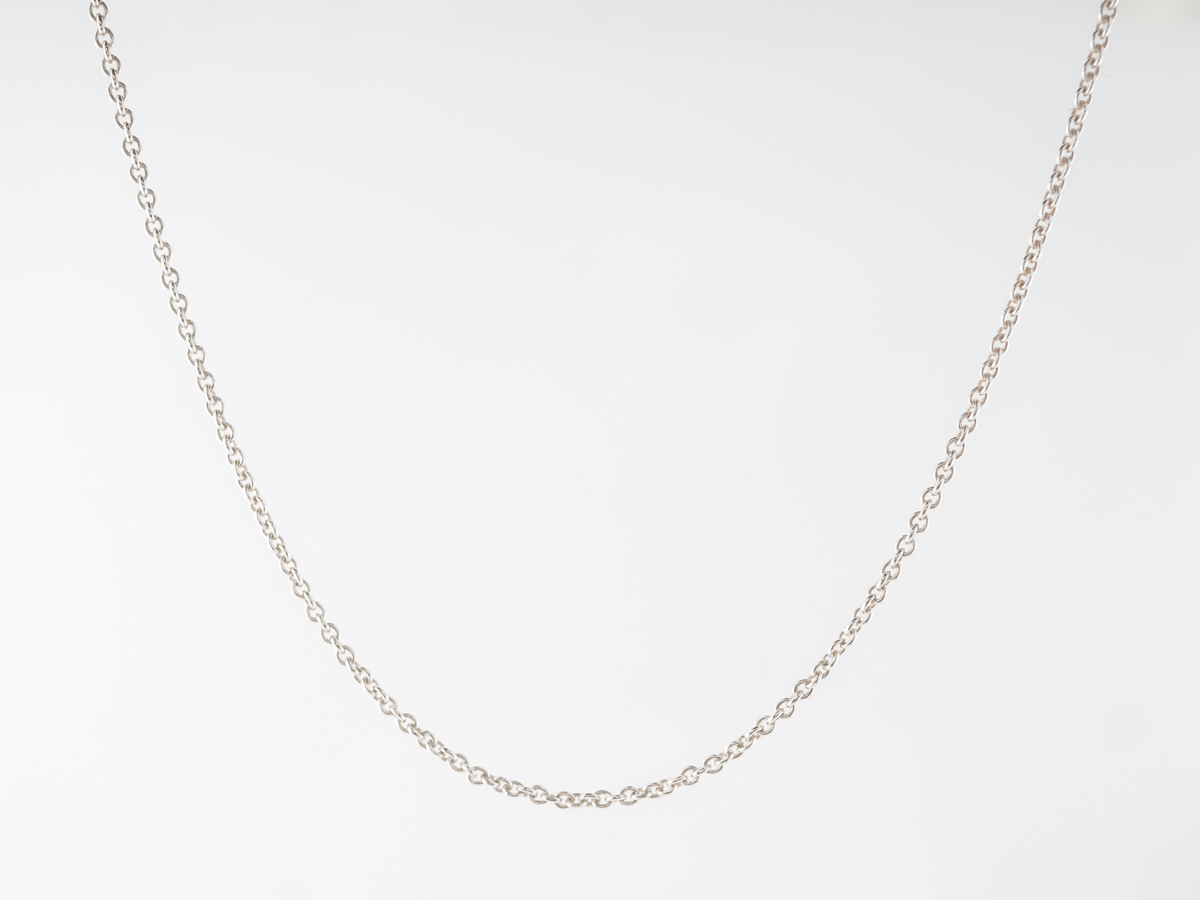 Delicate Tiffany & Co. Chain in Sterling Silver