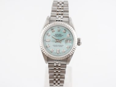 Rolex Datejust w/ Diamond Dial in Stainless Steel